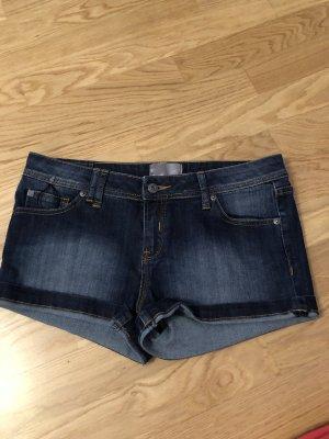 Bench Pantalón corto de tela vaquera azul-azul oscuro