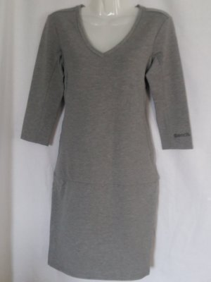 Bench Damen Sweatkleid Gr. S grau