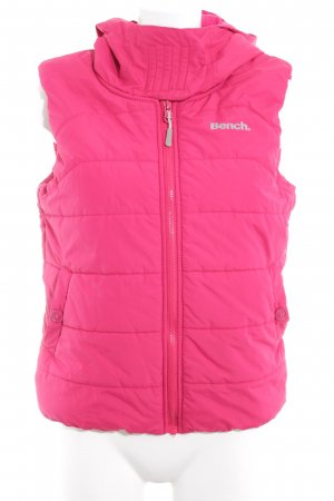 Bench Down Vest pink casual look
