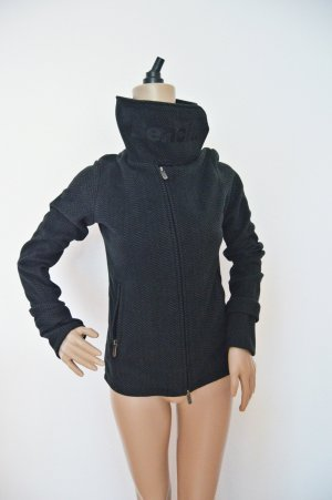 Bench Fleece Jacke gr.S grau-schwarz