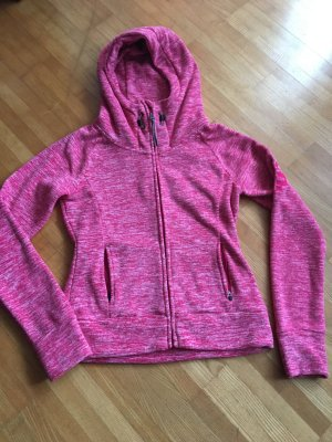 Bench Fleece Jacke pink