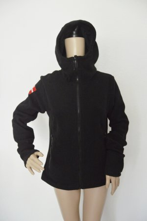 Bench Fleece Jacke Pullover gr.L schwarz