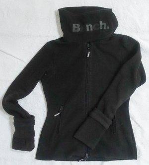 Bench Fleece Jacke schwarz