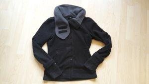 BENCH Fleece-Jacke schwarz, Gr. M