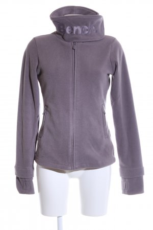 Bench Fleece jack lila casual uitstraling