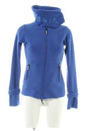 Bench Fleecejacke blau Casual-Look
