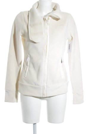 Bench Fleece Jackets cream athletic style
