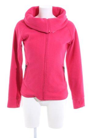 Bench Fleecejacke pink schlichter Stil