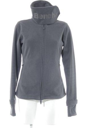 Bench Fleece Jackets dark grey fluffy