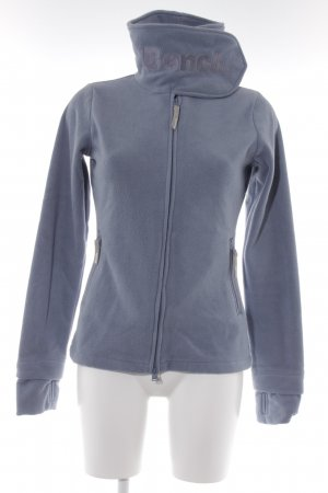 Bench Fleecejacke graublau Kuschel-Optik