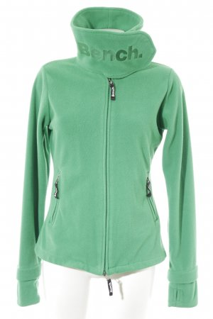 Bench Fleece Jackets green casual look