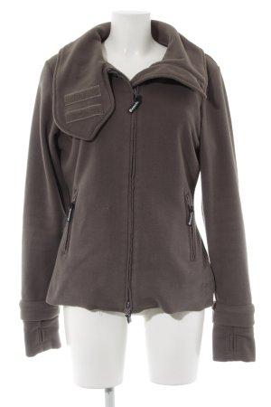 Bench Fleece Jackets khaki casual look