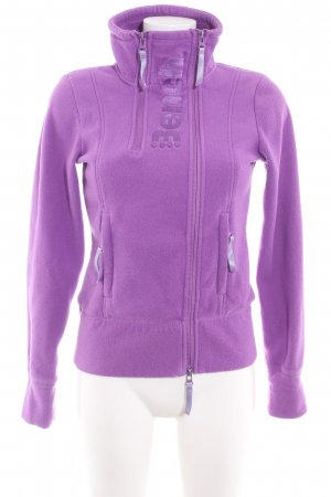 Bench Fleece Jackets lilac athletic style