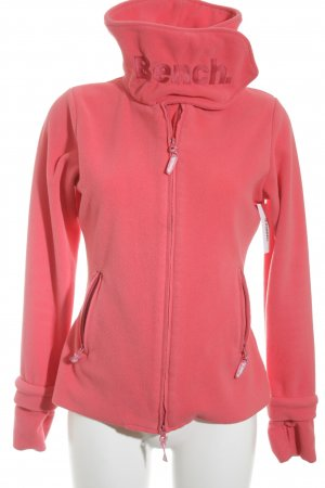 Bench Fleecejacke neonpink Casual-Look