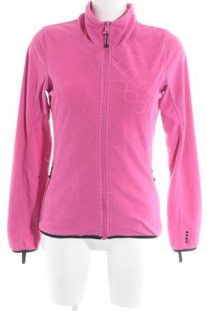 Bench Fleece Jackets pink casual look