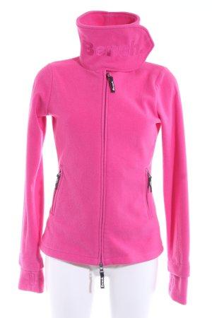 Bench Fleecejacke pink sportlicher Stil