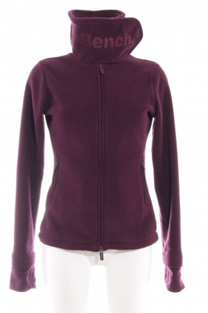 Bench Fleece Jackets purple-dark violet casual look