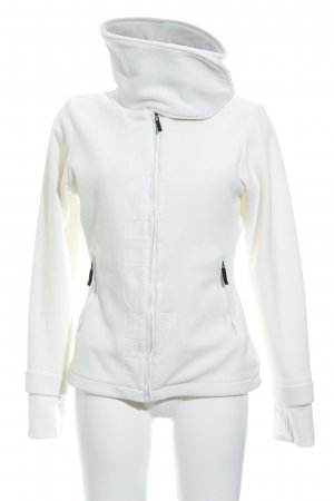 Bench Fleece Jackets natural white casual look