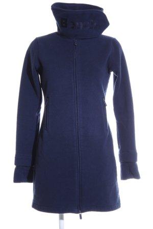 Bench Fleecemantel blau Casual-Look