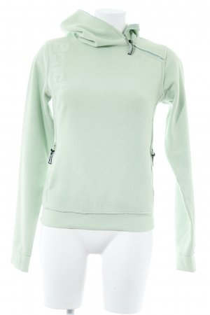 Bench Pullover in pile verde pallido stile atletico