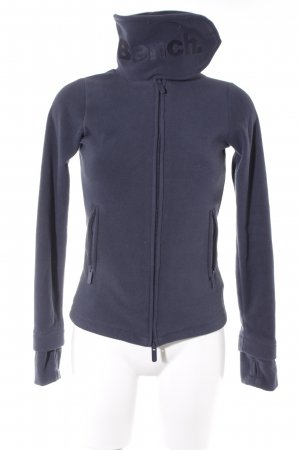 Bench Pullover in pile blu scuro stile casual