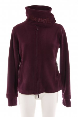 Bench Fleeceweste brombeerrot Casual-Look