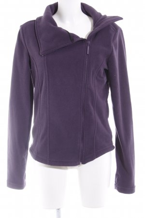 Bench Fleeceweste lila Casual-Look