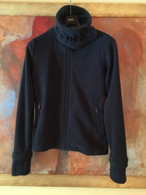 BENCH Funnel Neck Fleece Jacke