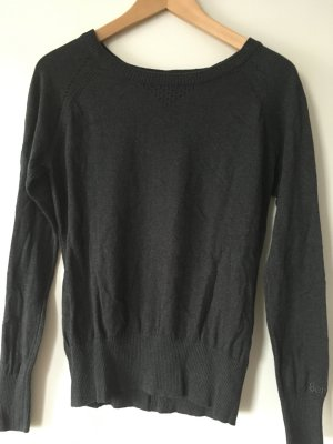 Bench Sweater antraciet Katoen