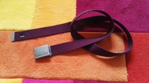 Bench Cintura in tessuto lilla