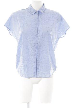 Bench Hemd-Bluse himmelblau-kornblumenblau Punktemuster Casual-Look