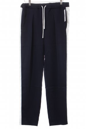 Bench Trousers dark blue-white casual look