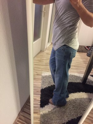 Bench Hose Jeans Knopfleiste bootcut