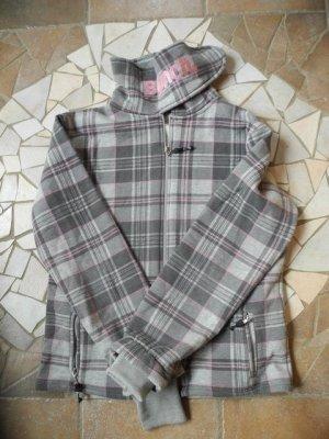 Bench Veste chemise argenté-or rose coton