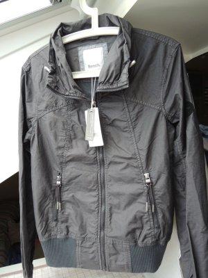 Bench Short Jacket dark grey cotton