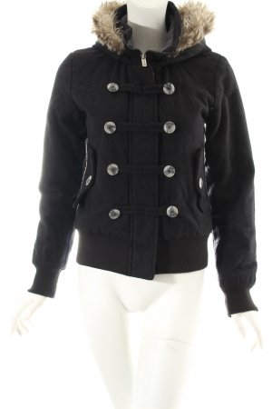 Bench Jacket black casual look