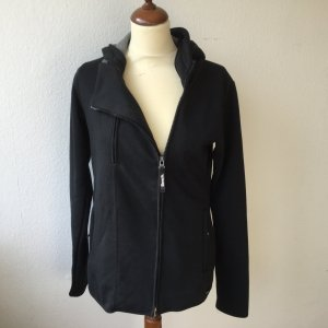 Bench Jacke schwarz grau Gr. L Kapuze NEU