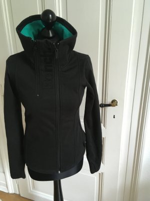 Bench Jacke schwarz türkis