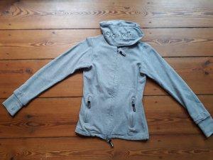Bench Veste sweat gris clair coton