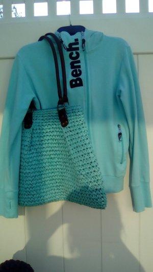 Bench Giacca con cappuccio blu neon