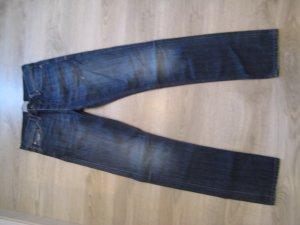 Bench Vaquero pitillo azul oscuro Algodón