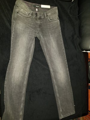 Bench Straight Leg Jeans dark grey