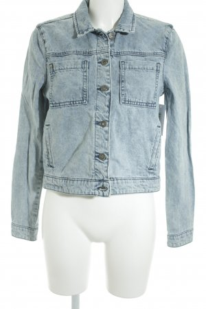 Bench Jeansjacke hellblau Casual-Look