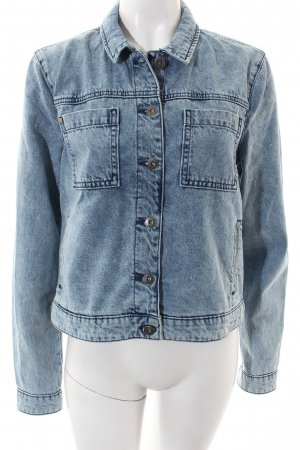 Bench Denim Jacket light blue casual look