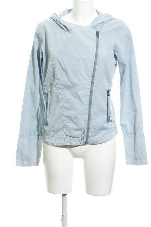 Bench Veste en jean bleu azur-bronze moucheté style décontracté
