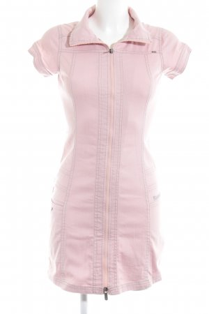 Bench Denim Dress pink casual look