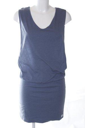 Bench Jerseykleid blau Casual-Look