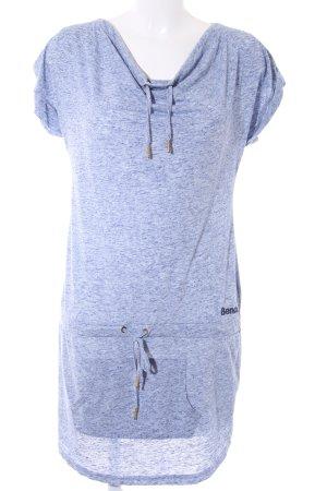 Bench Jersey Dress azure flecked casual look