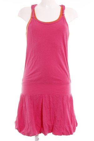 Bench Jerseykleid pink-orange sportlicher Stil