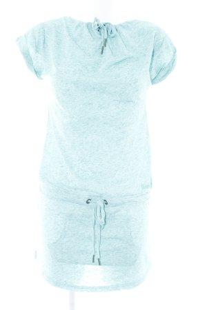Bench Jerseykleid türkis-babyblau meliert sportlicher Stil